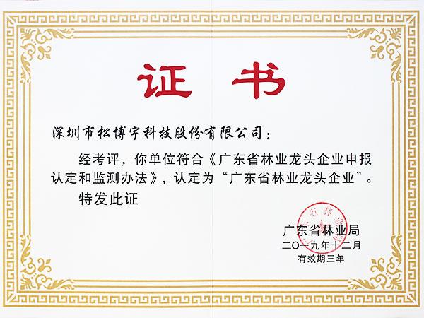 实木指接板厂家松博宇-林业龙头企业证书