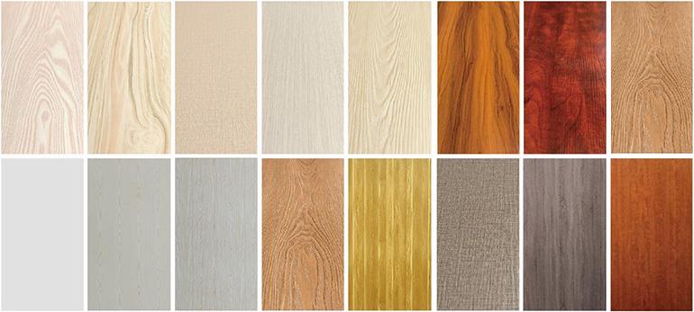 北美实木结构板花色